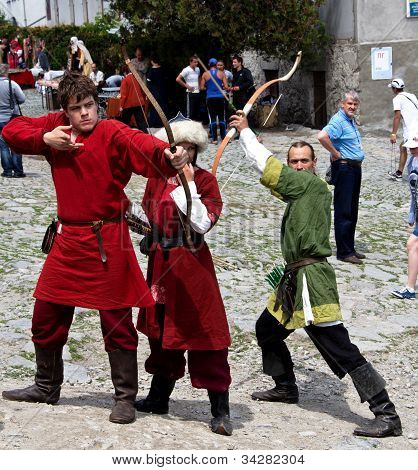 Medieval archers