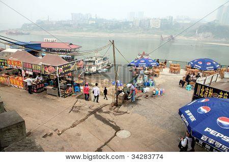 Yangtze River Shoreline