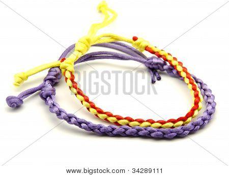 Bracelets of colors