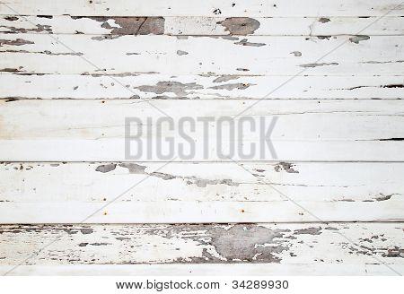 Textura de madeira branca com padrões naturais