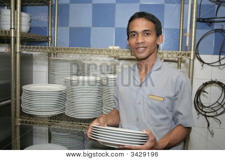 Steward Staff At Work