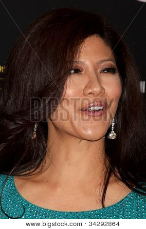LOS ANGELES - JUN 23:  Julie Chen arrives at the 2012 Daytime Emmy Awards at Beverly Hilton Hotel on June 23, 2012 in Beverly Hills, CA
