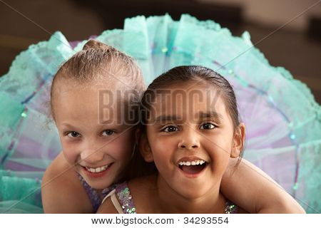 Adorable Ballerina Friends