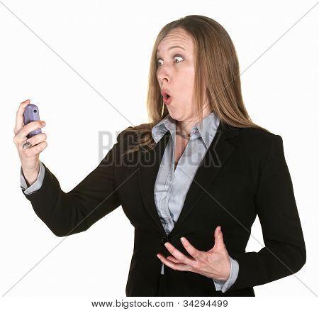 Shocked Professional Lady