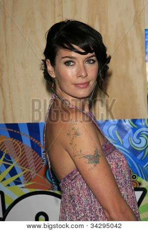 SANTA MONICA, CA - JUL 23: Lena Headey Fox Summer TCA Press Tour All Star Party at the Santa Monica Pier, Santa Monica, California on July 23, 2007