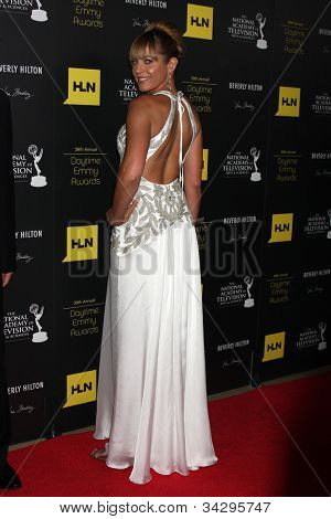 LOS ANGELES - JUN 23:  Arianne Zucker arrives at the 2012 Daytime Emmy Awards at Beverly Hilton Hotel on June 23, 2012 in Beverly Hills, CA