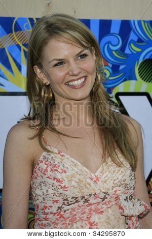 SANTA MONICA, CA - JUL 23: Jennifer Morrison Fox Summer TCA Press Tour All Star Party at the Santa Monica Pier, Santa Monica, California on July 23, 2007