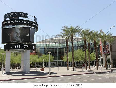 A View Of Us Airways Center, Phoenix, Arizona
