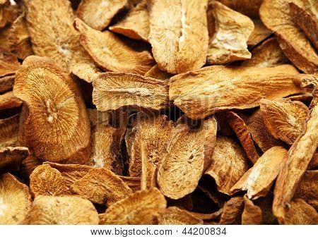 Herbal , dry burdock root
