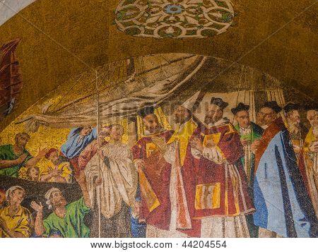 San Marco Mosaic facade
