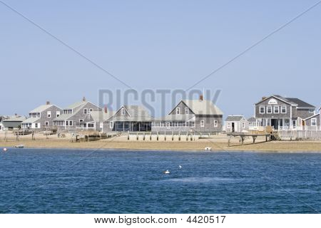 Wooden Houses On Cape Cod