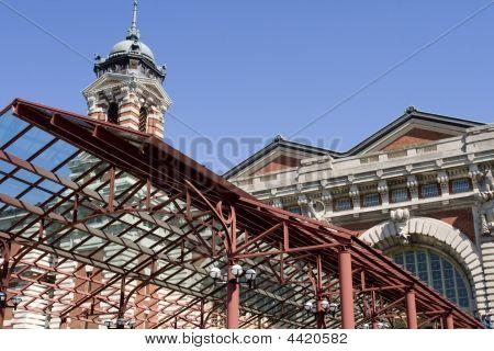 Entrance Ellis Island