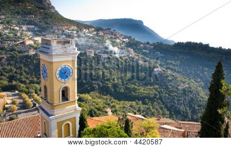 Eze Village Clock Tower