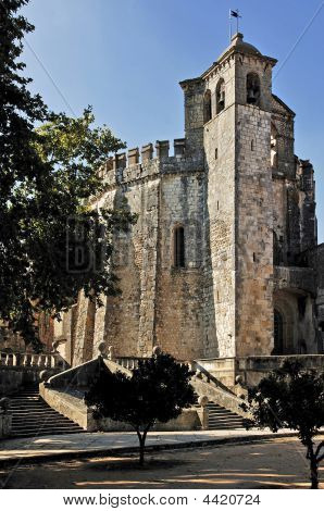 Portugal, Tomar: Castle And Convent Of Tomar