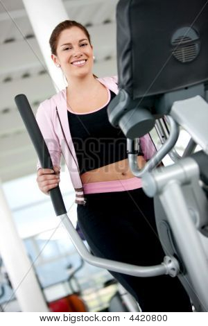 Beautiful Gym Woman