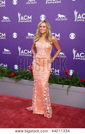 LAS VEGAS - MAR 7:  Jewel arrives at the 2013 Academy of Country Music Awards at the MGM Grand Garden Arena on March 7, 2013 in Las Vegas, NV