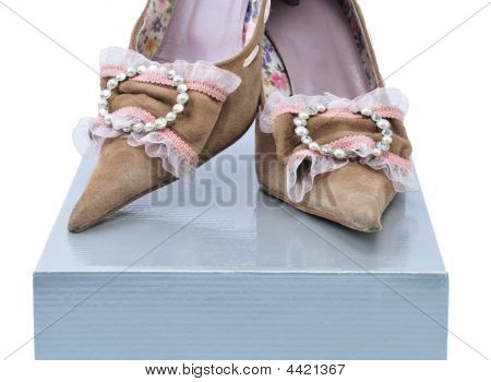 Pair Woman's Shoes