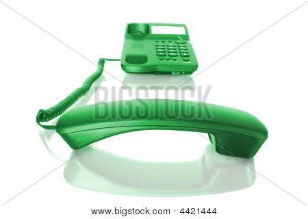 Telephone With Receiver Off