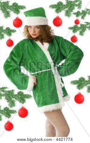 Green Sexy Noel