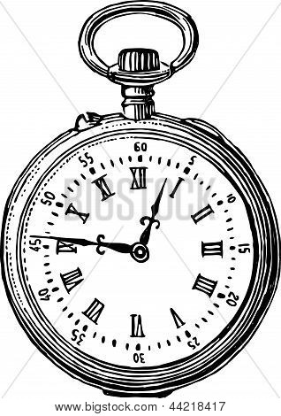 Old Pocket Watch.eps