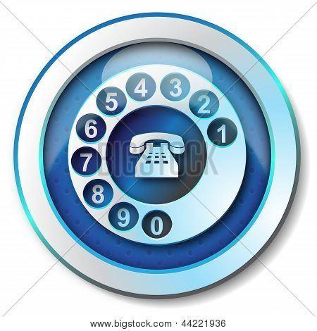 Call telephone icon