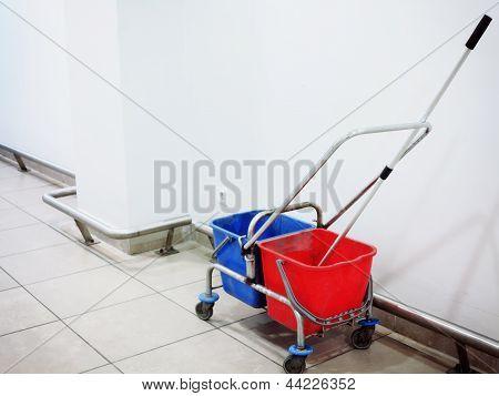 Mop And Bucket Indoor