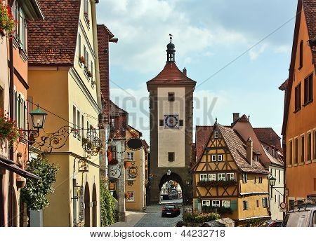 Rothenburg On The River Tauber,bavaria,germany