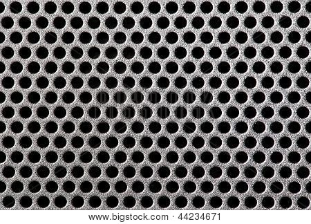 Metal Grill Dot Pattern