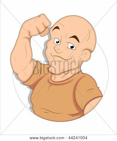 Cartoon Bodybuilder