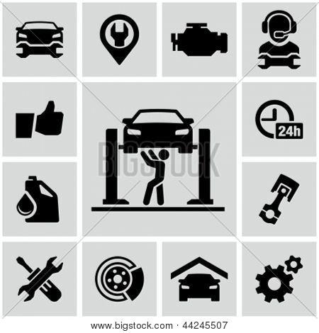 Garage icons