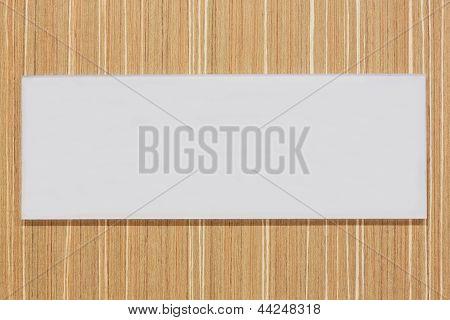 Blank Sign Board