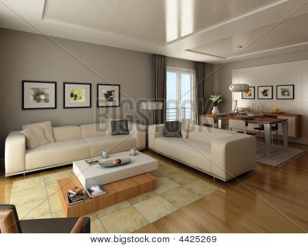 Modern Style Living Room
