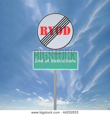 BYOD - End restriction