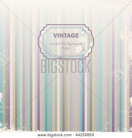 Made old vintage vector background.