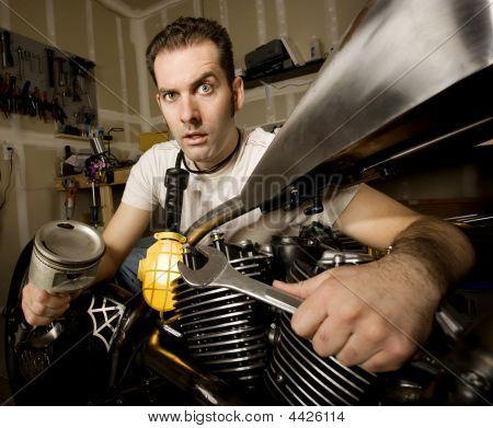 Overwhelmed Mechanic