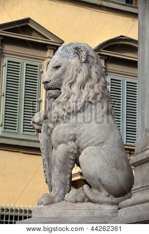 Florence - Lion Marzocco.