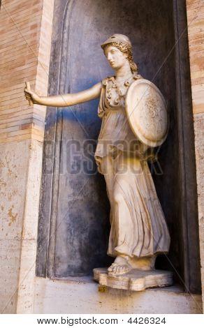 Estatua de ciudad del Vaticano
