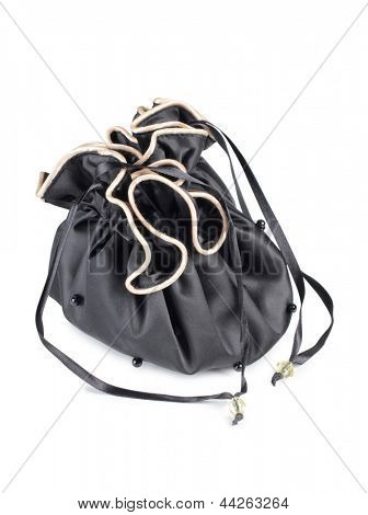 Color photo of a small female bags