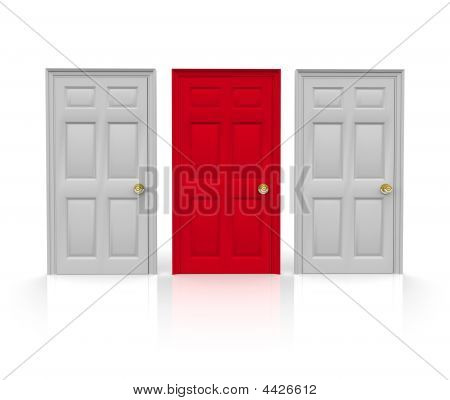 Three Doors - Which To Choose