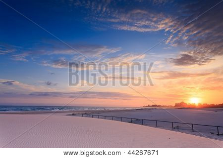 Kirra Beach At Sunrise (queensland, Australia)