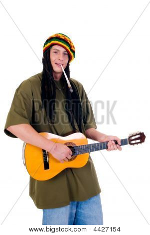 Rasta Reggae Guy