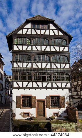 Tanner House (1742). Strasbourg (unesco Site)
