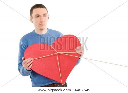 Man Dont Giving His Heart