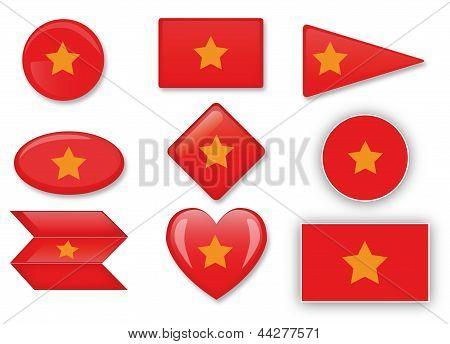 Vetnam Flagge