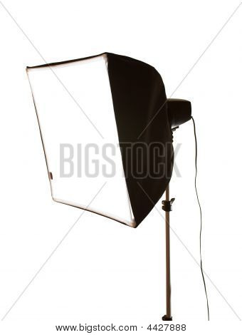 Studio Flash With Softbox