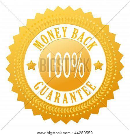 Money back vector seal