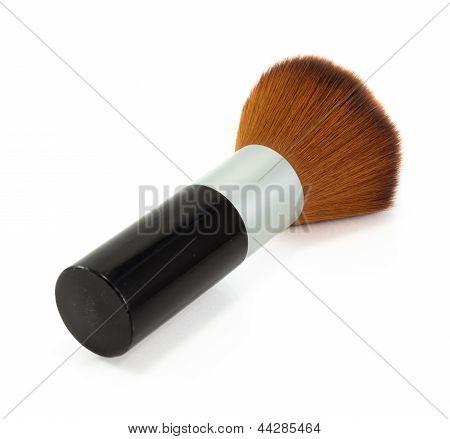 Black Brush-on Isolated On White Background