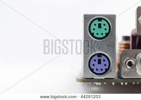 Computer Motherboard Board Connectors