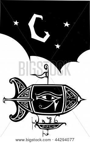 Egyptian Blimp