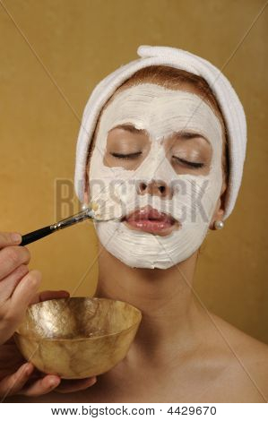 Spa Organic Facial Mask
